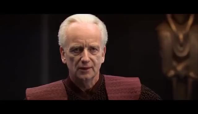 Watch and share Palpatine Reveals Himself - Revenge Of The Sith [1080p HD] GIFs on Gfycat