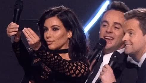Watch and share Kim Kardashian GIFs and Selfie GIFs by Reactions on Gfycat
