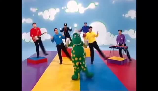 Watch and share The Wiggles- Dorothy The Dinosaur GIFs on Gfycat