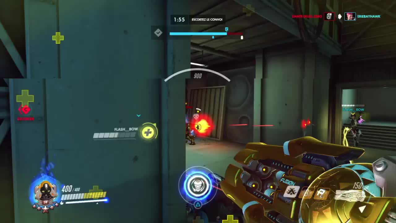 highlight, overwatch, PS4share - - GIFs