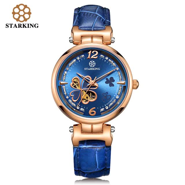 Watch and share STARKING Font Ladies Font Mechanical Font Watches Font Women Rose Gold Automatic GIFs on Gfycat