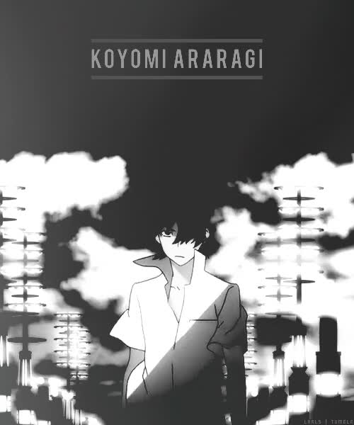 Watch and share Koyomi Araragi GIFs on Gfycat