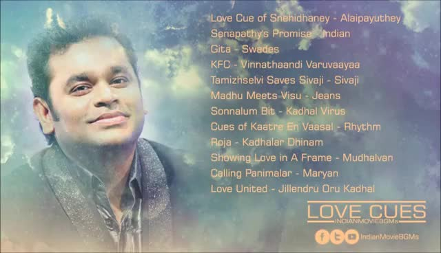 Watch and share Love Cues | A.R.Rahman | Jukebox | IndianMovieBGMs GIFs on Gfycat