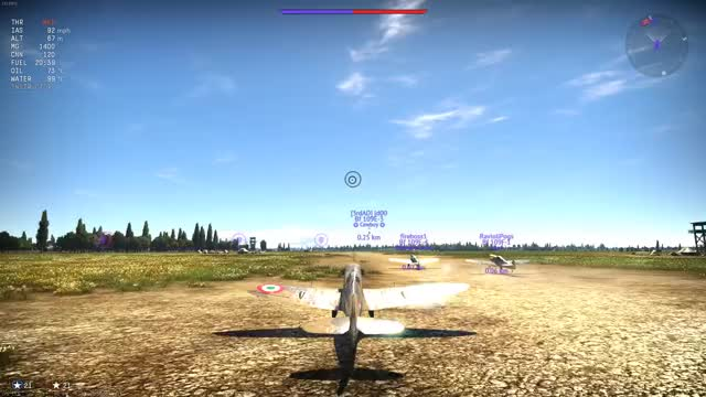 Watch and share Spitfire Mk Vb GIFs and War Thunder GIFs by DominantReverse on Gfycat