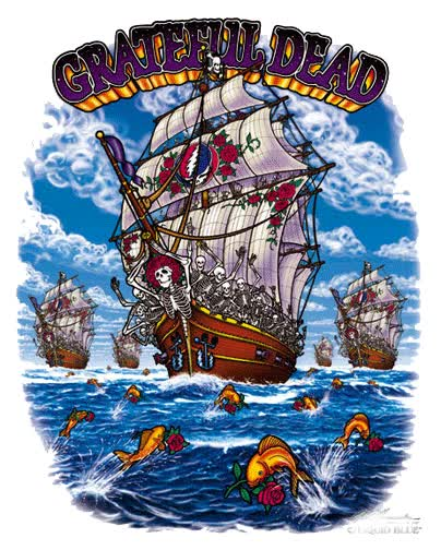 Watch and share Grateful Dead animated stickers on Gfycat