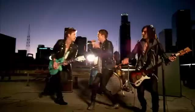 Hot Chelle Rae, Ian Keaggy, Nash Overstreet, RK Follese, Tonight Tonight GIFs
