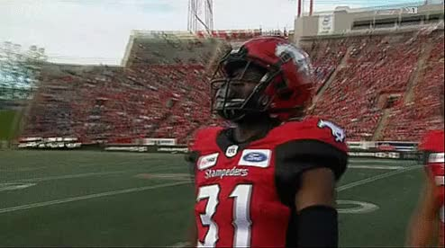 Watch and share Mcmahon Stadium GIFs and Tre Roberson GIFs by Archley on Gfycat