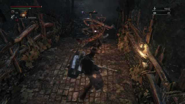 Watch and share Break (Bloodborne) GIFs on Gfycat