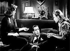 Watch and the woman clothed in sun GIF on Gfycat. Discover more **, *filmgifs, *noir14, 1940s, 1946, filmedit, humphrey bogart, lauren bacall, noirvember, the big sleep GIFs on Gfycat