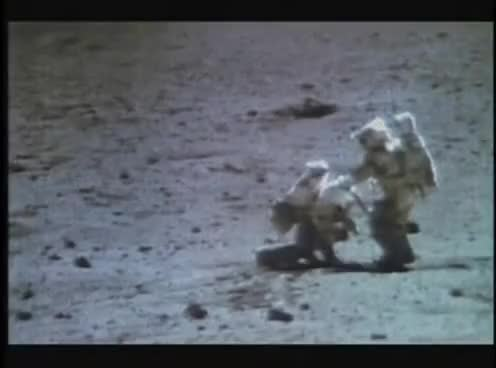 Watch Moon Landing Hoax - Wires Footage GIF on Gfycat. Discover more related GIFs on Gfycat