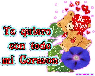 Watch and share TE QUIERO MUCHO MI AMOR animated stickers on Gfycat