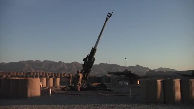 Watch and share M777 Howitzer Firing GIFs by kingtorm on Gfycat
