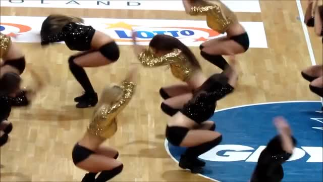 Watch and share Cheerleaders Poland - Sex On Fire [HD] 2014 WOW! GIFs on Gfycat