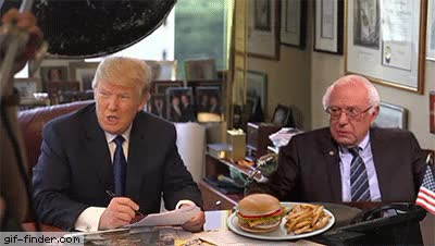 Watch and share Bernie Sanders GIFs and Donald Trump GIFs on Gfycat