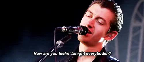 Watch smd GIF on Gfycat. Discover more arctic monkeys, bandspg, guys honestly this this gif, heyyyyy, i know the first one's been made but, mine, t in the park GIFs on Gfycat