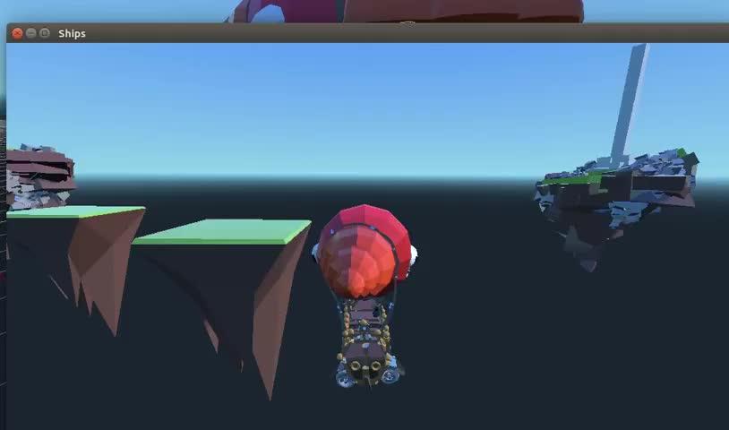 3D, Godot, Godot 3.0, Simple Ship Shooting Godot 3.0 3D GIFs