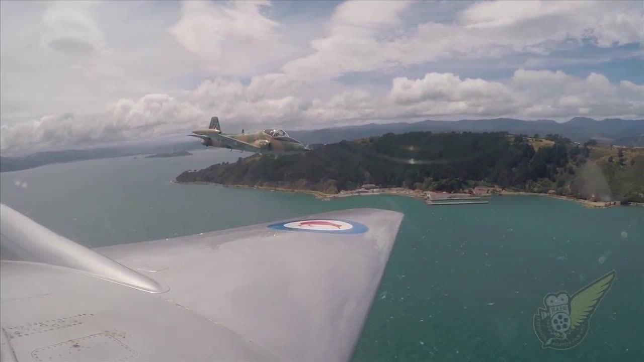 warplanegfys, Strikemaster Jet Gun Run On Wellington Airport (reddit) GIFs