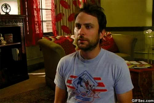 Watch and share Charlie Day GIFs and Alwayssunny GIFs by Reactions on Gfycat