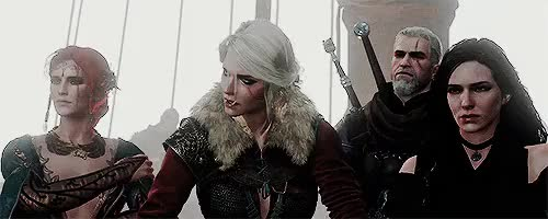 Watch and share Cirilla Of Cintra GIFs and Geralt Of Rivia GIFs on Gfycat
