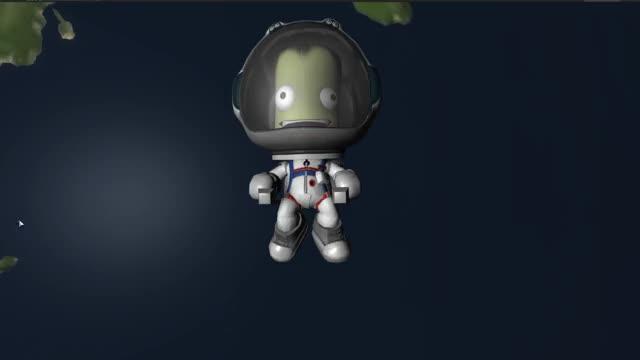 Watch New EVA Space Suit Revamp - Red, Blue & White GIF by Kerbal Space Program (@kerbalspaceprogram) on Gfycat. Discover more EVA, kerbal space program, ksp, new, spacesuit GIFs on Gfycat