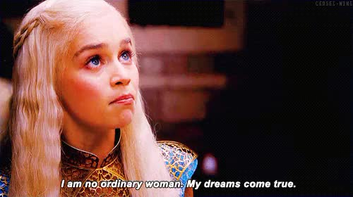 Watch dreams do come true GIF on Gfycat. Discover more emilia clarke GIFs on Gfycat