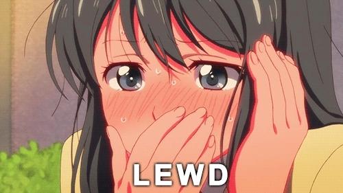 KillLaKill, funny, tsunderesharks, How lewd! (reddit) GIFs