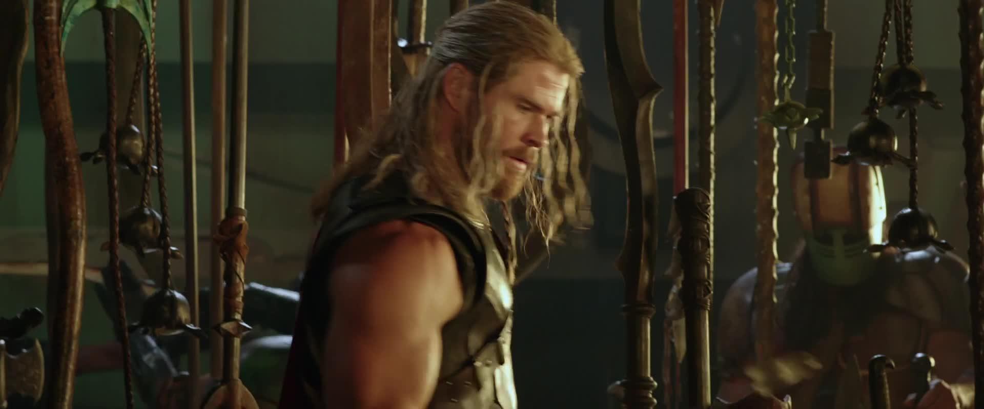 chris hemsworth, comic books, comics, geeky, marvel, mjolnir, movies, nerdy, super hero, superhero, thor ragnarok, thor: ragnarok, Thor: Ragnarok - R.I.P. Mjolnir (Hammer) GIFs