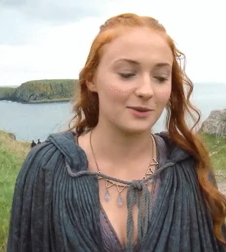 Watch Sophie Turner GIF by @peludito on Gfycat. Discover more related GIFs on Gfycat