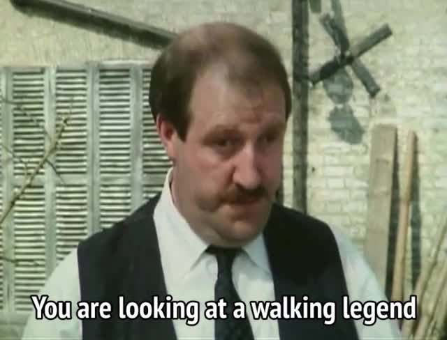 Watch and share Gordon Kaye GIFs and Allo Allo GIFs by MikeyMo on Gfycat