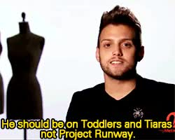 Watch and share Project Runway GIFs and Christopher GIFs on Gfycat