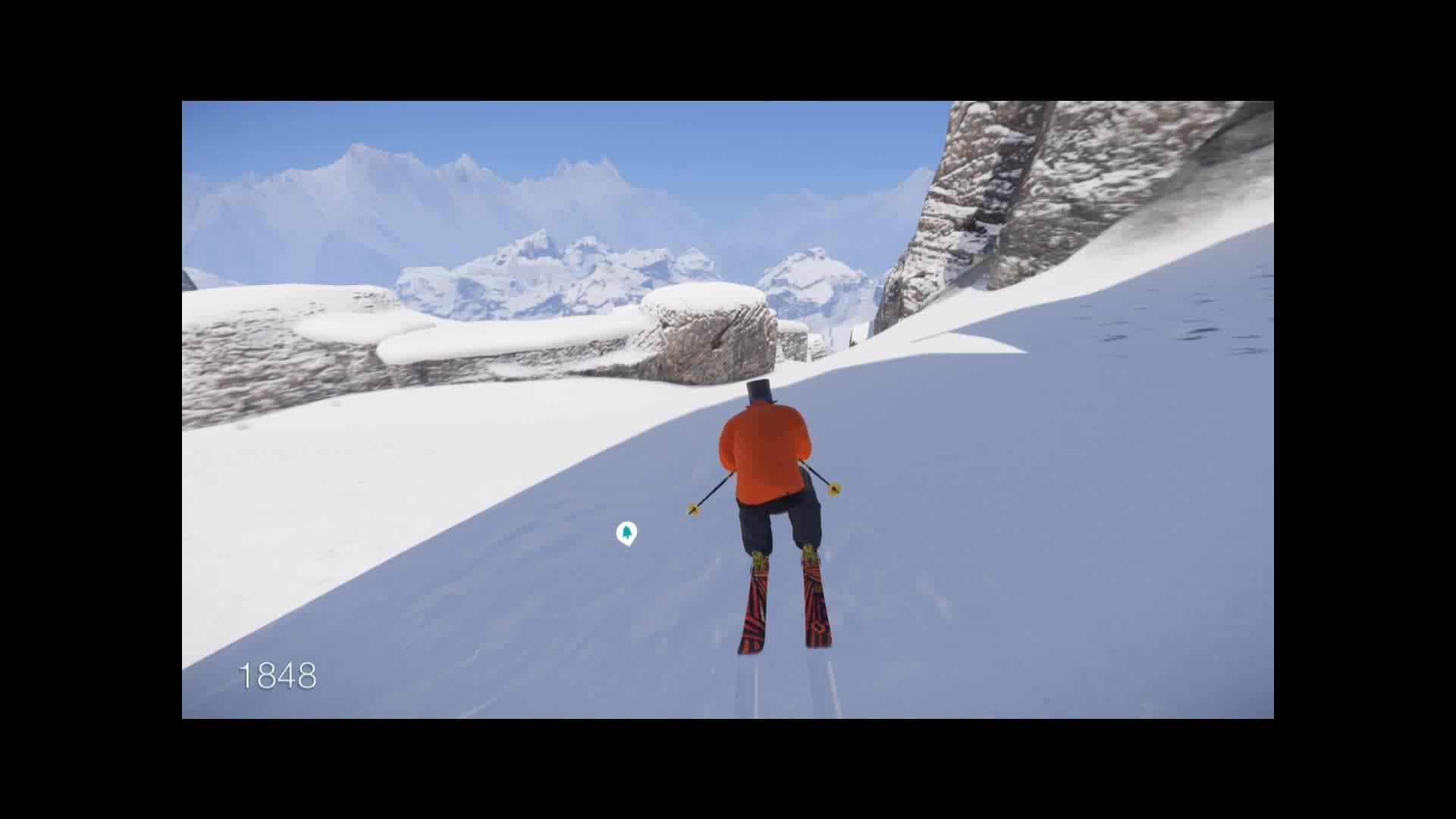 SNOW, flip, snowthegame, MostChillBackflip GIFs