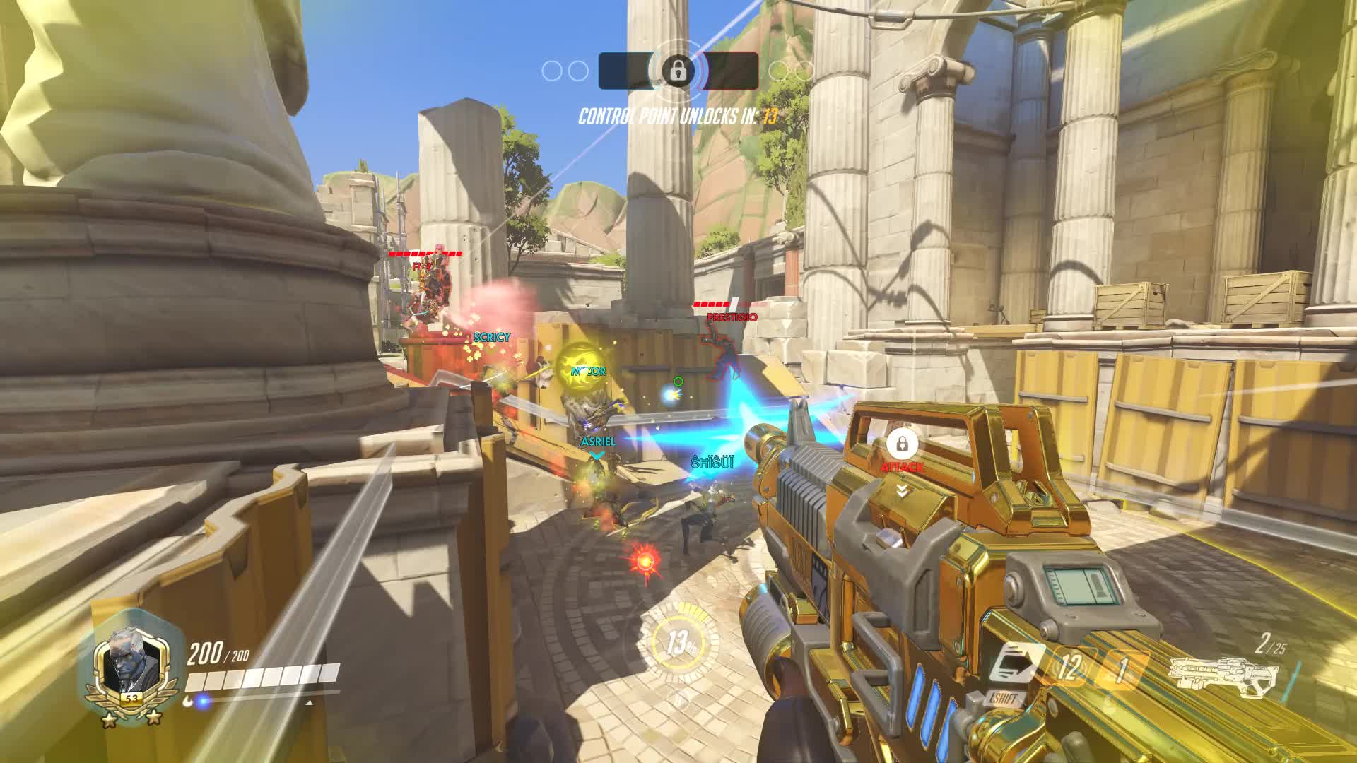 boop, helix, overwatch, soldier 76, Packs a punch GIFs