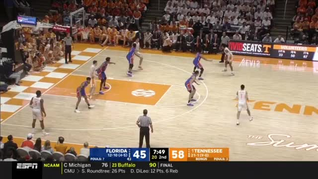 Watch Gators Vols full game 2 GIF by @gyrateplus on Gfycat. Discover more People & Blogs, W, basketball GIFs on Gfycat