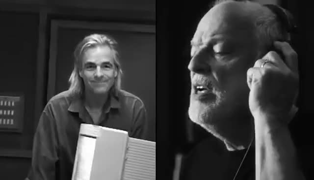 Watch and share Richard Wright GIFs and David Gilmour GIFs on Gfycat