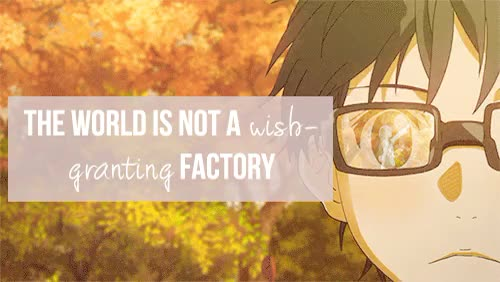 Watch and share Your Lie In April GIFs and Anime Quotes GIFs on Gfycat