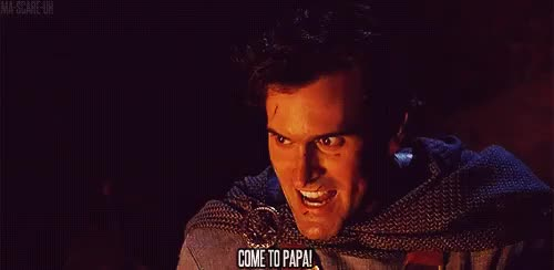 Watch and share Bruce Campbell GIFs on Gfycat