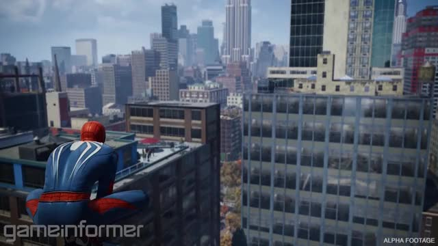 Watch this spiderman GIF by @chuchumcgoo on Gfycat. Discover more gameplay, insomniac, marvel, ps4, spider man, spiderman GIFs on Gfycat
