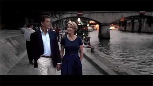 Watch Silje Mari GIF on Gfycat. Discover more Pierce Brosnan, The Love Punch, emma thompson, i love emma thompson, i love it, kiss, love punch, love punch spam, love punch trailer, paris, sweet, trailer GIFs on Gfycat