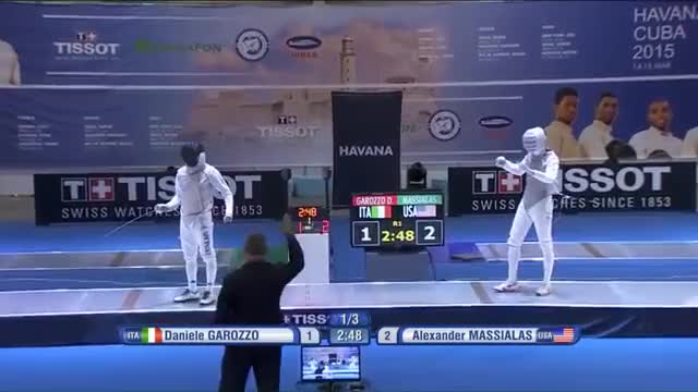 GP Havana 2015 Men Foil Individual Semifnals (reddit)