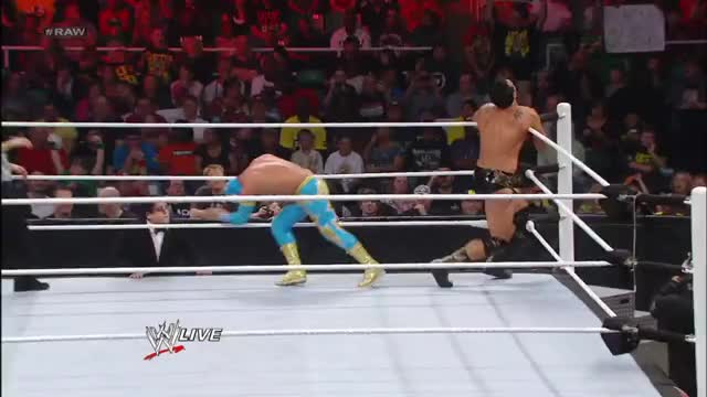 Watch Missed GIF by Blaze Inferno (@metaknightxprophets) on Gfycat. Discover more Alberto Del Rio, Ricardo Rodriguez, Sin Cara, SquaredCircle, wrestling GIFs on Gfycat