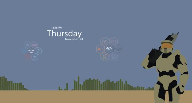 Watch rainmeter desktop GIF on Gfycat. Discover more rainmeter GIFs on Gfycat