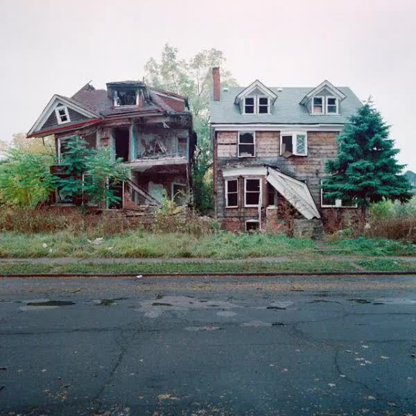 Watch and share Abandoned-house-detroit GIFs on Gfycat