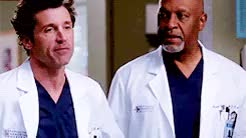 Watch and share Patrick Dempsey GIFs and Jessica Capshaw GIFs on Gfycat
