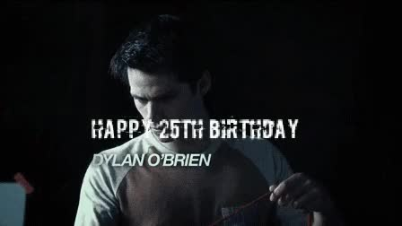 Watch birthday, gif, teen wolf, the maze runner, dylan o' brien GIF on Gfycat. Discover more related GIFs on Gfycat