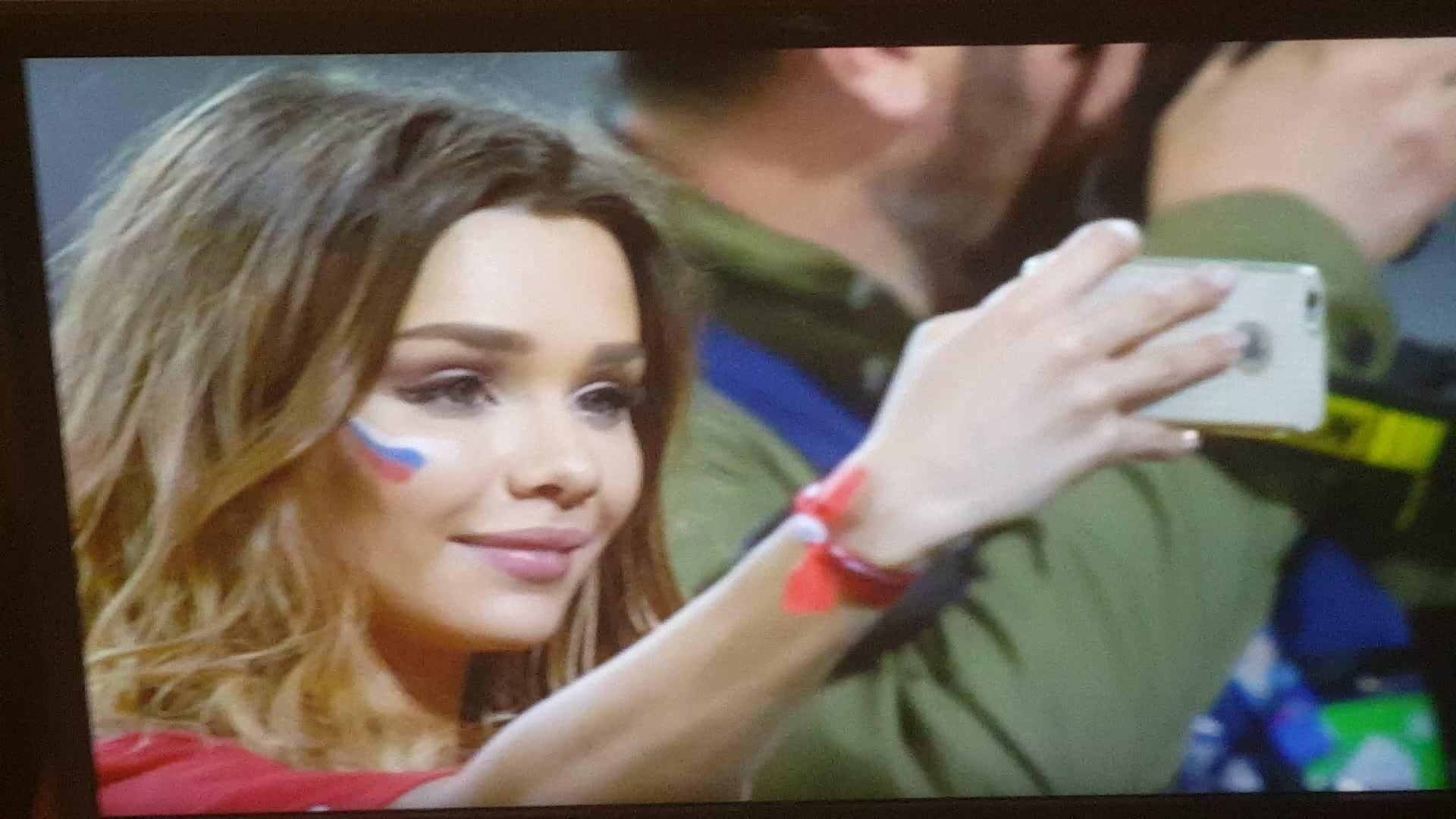 ImagesOfRussia, cutegirlgifs, imagesofrussia, Russian soccer fan GIFs