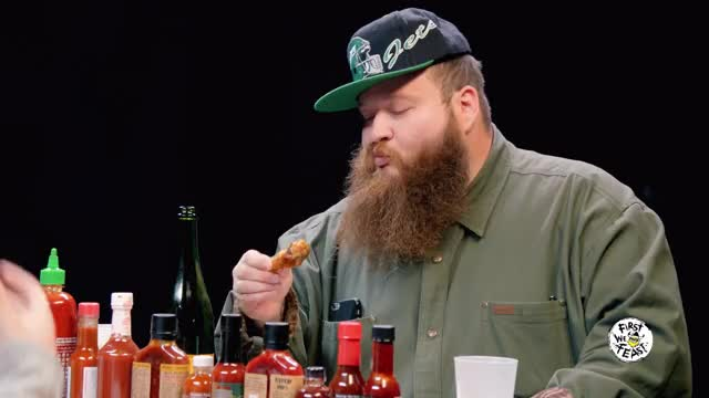 Watch Action Bronson Eating Wings in Reverse GIF by @kgbbestmcintheexcccp on Gfycat. Discover more action bronson, first we feast, hot ones GIFs on Gfycat