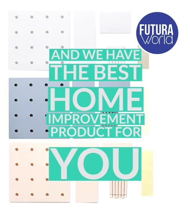 Watch and share Home Improv Wall Organizer Rack (FUTURA) GIFs by Nikkie Cinco Munda on Gfycat