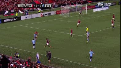 West Sydney Wanderers vs Sydney FC (r26) GIFs