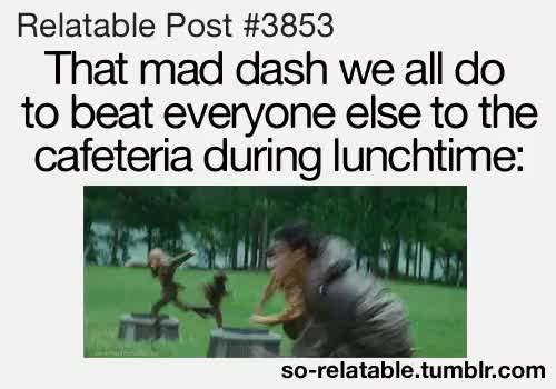 Watch and share Hunger Games GIFs and Cafeteria GIFs on Gfycat