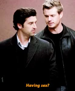 Watch and share Patrick Dempsey GIFs and Derek Shepherd GIFs on Gfycat